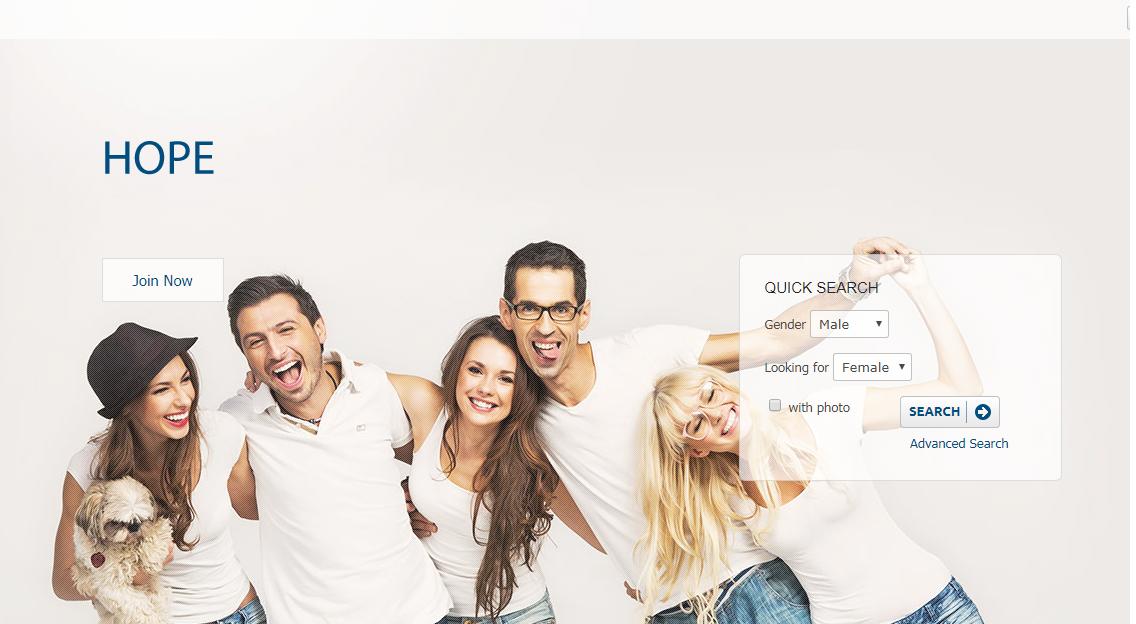 Hope dating website
